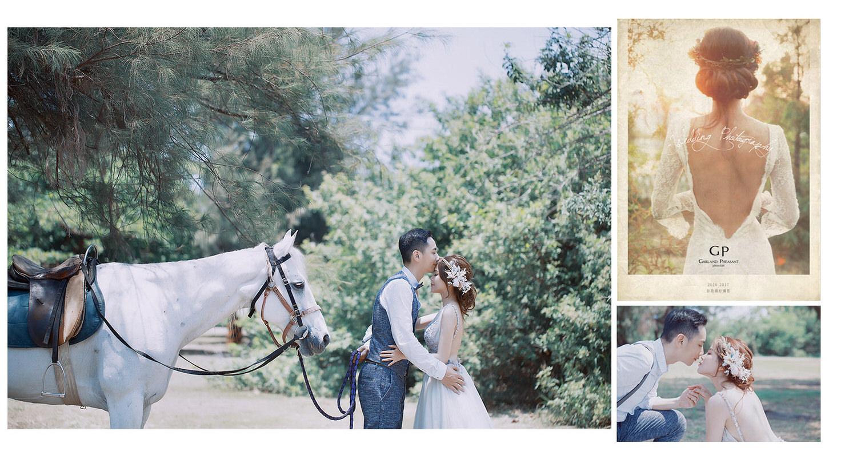 【生活】我的夢想自助婚紗 /台南 GP Photolab雞與花環照相館(上篇)