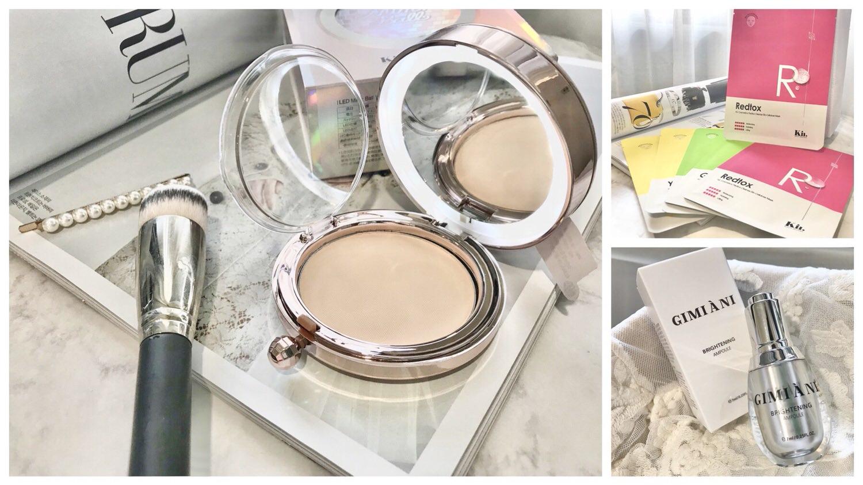 【彩妝保養】免出國宅在家也可以瘋買日韓美妝 | Kii 保濕面膜、LED 彩球粉餅、光波亮白精華液
